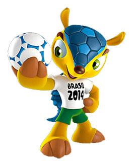 Талисман Чемпионата мира броненосец Фулеко