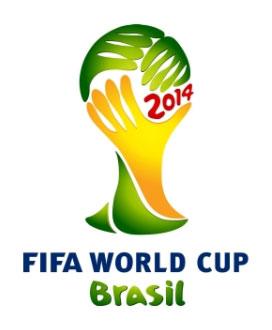 Эмблема 20-го Чемпионата Мира по футболу 2014